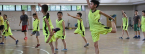 周末篮球训练