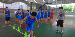 基础篮球训练